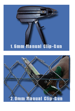 Manual Clip Guns